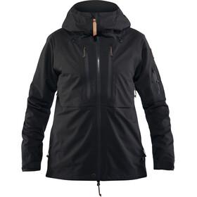 Fjällräven Keb Eco-Shell Jacke Damen black